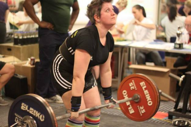 Sexy deadlift face