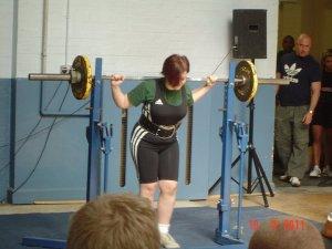 55kg opening squat